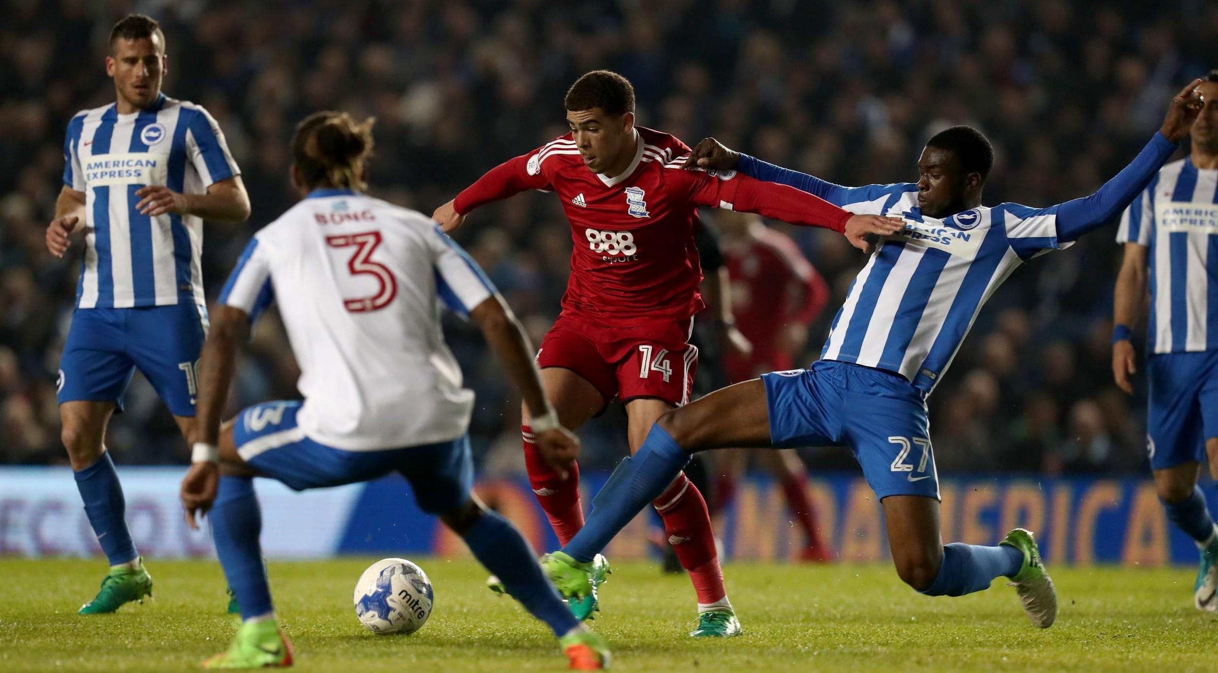 Albion kid Tomori has grown up a lot. He can prove it at the Amex