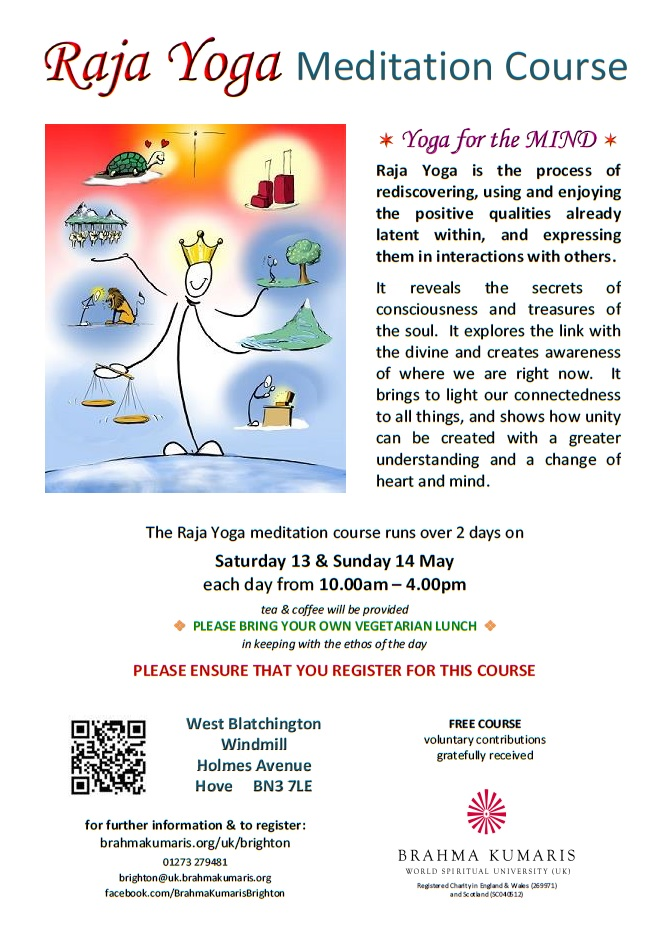 Raja Yoga Meditation Course  - Yoga for the Mind