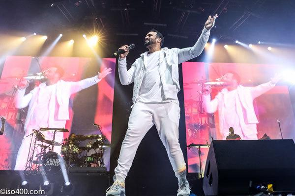 Craig David performs at the Brighton Centre last month.  Picture: Mike Burnell