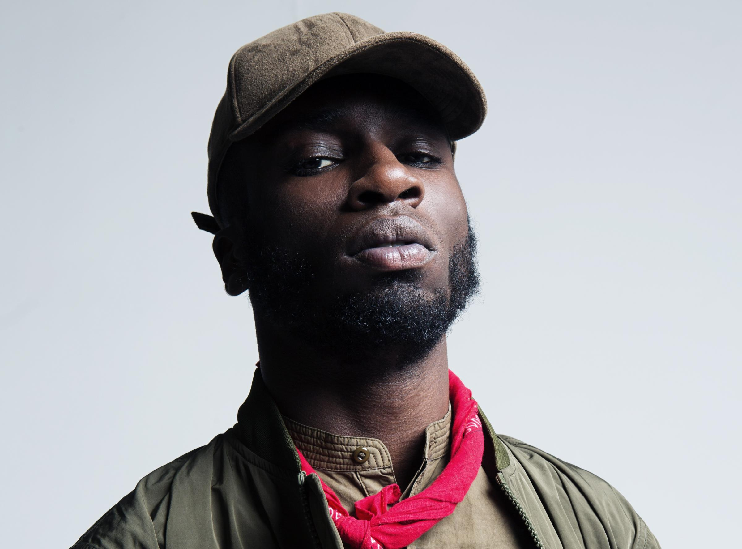 Upcoming spoken word artist Kojey Radical