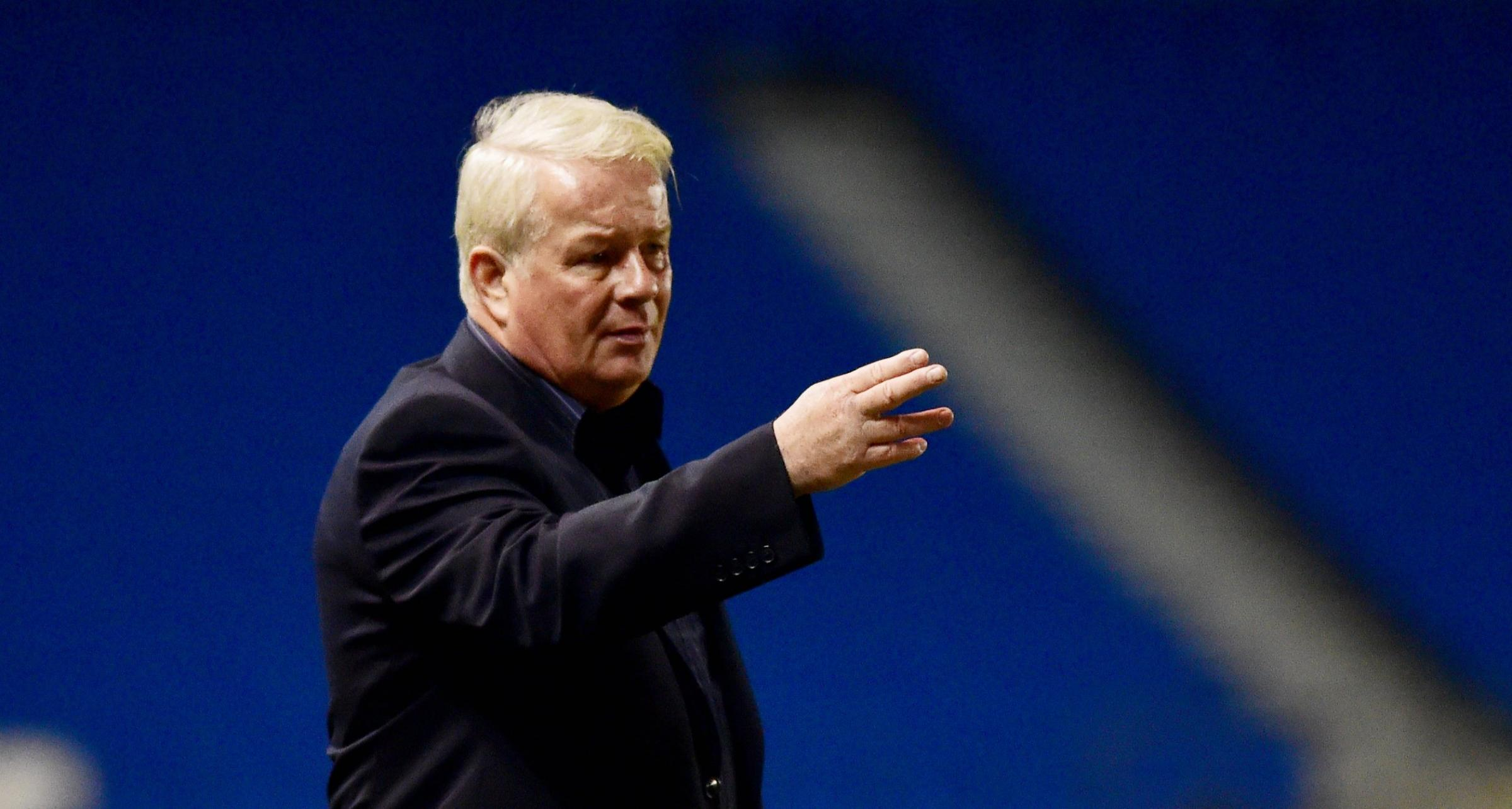 Dermot Drummy has been sacked as manager of Crawley Town