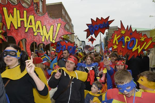 Brighton Festival Children's Parade set to bring colour and noise to city streets