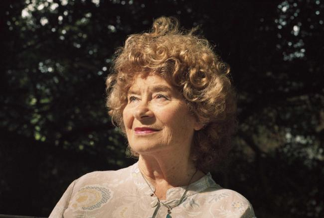Shirley Collins at home in Lewes