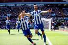 Both Anthony Knockaert and Glenn Murray rated highly