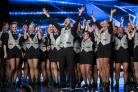 Brighton dance group TapTastik during the audition stage for ITV1's talent show, Britain's Got Talent, in 2017