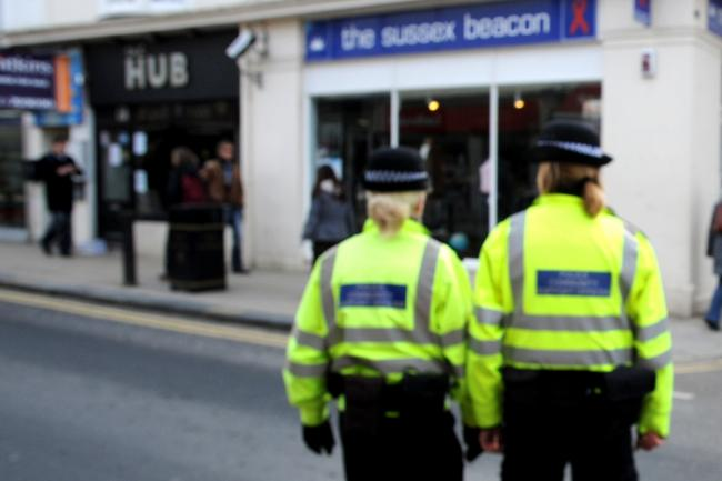 Police on the beat in Brighton