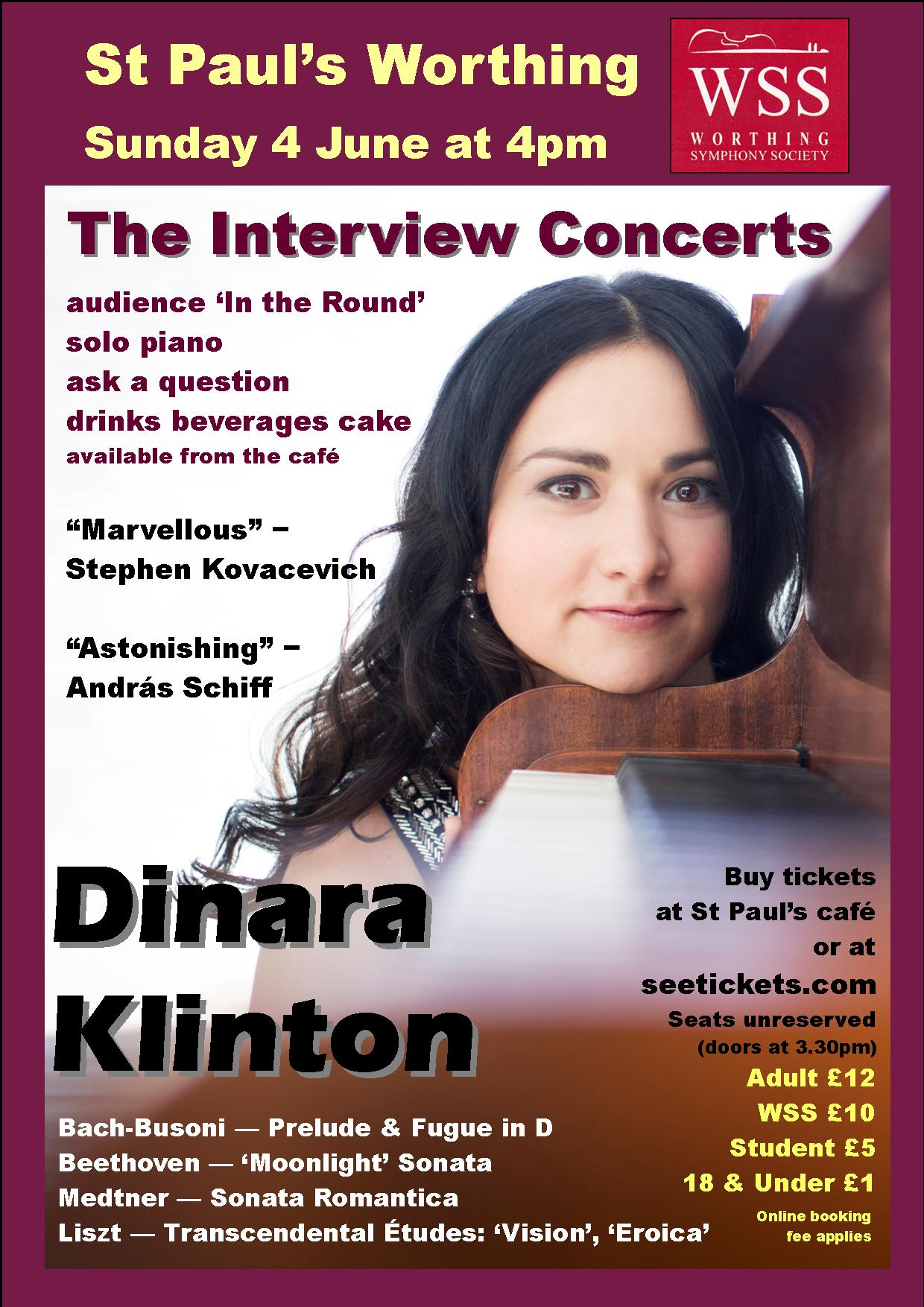 The Dinara Klinton Interview Concert