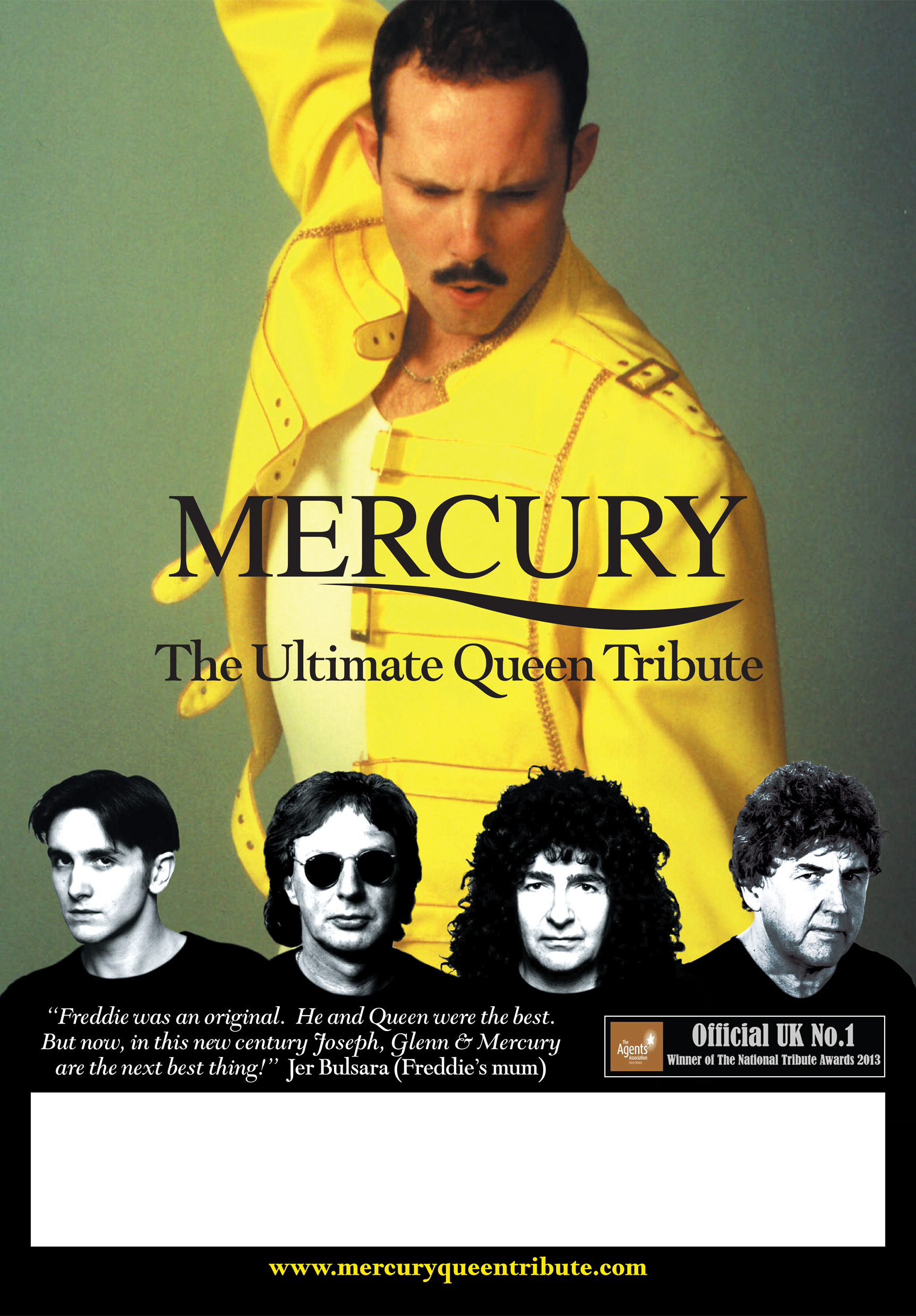 Mercury  -  Queen, the legend lives on