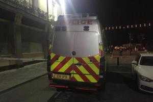 Police were called to East Street at 10.15pm