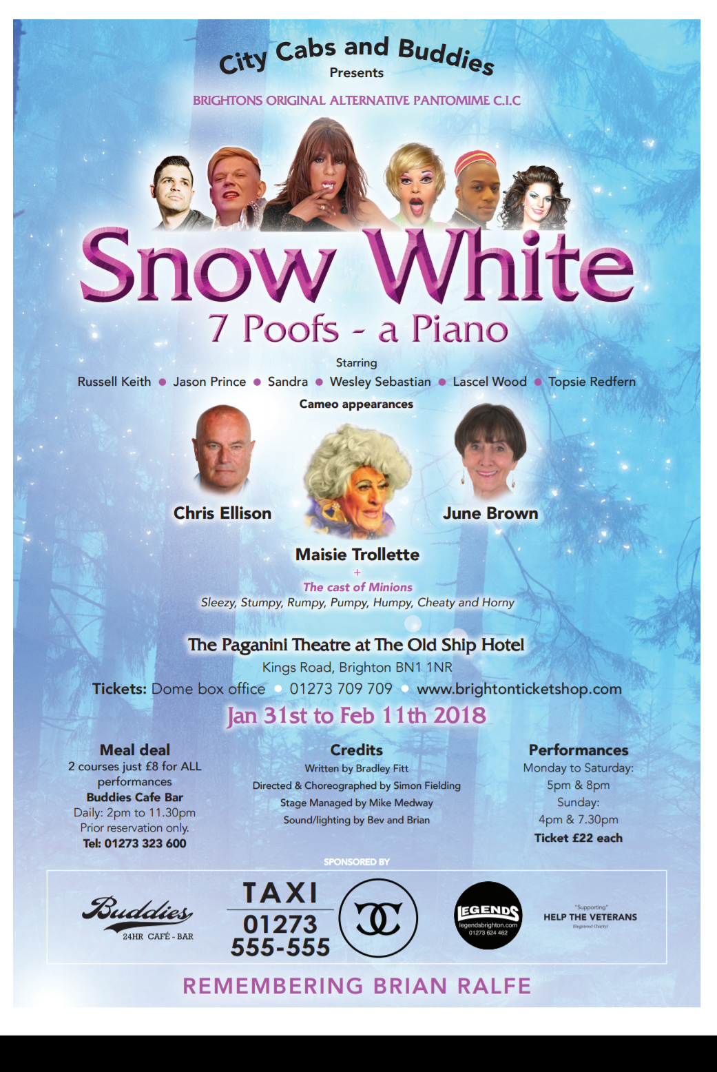 Snow White 7 Poofs A Piano
