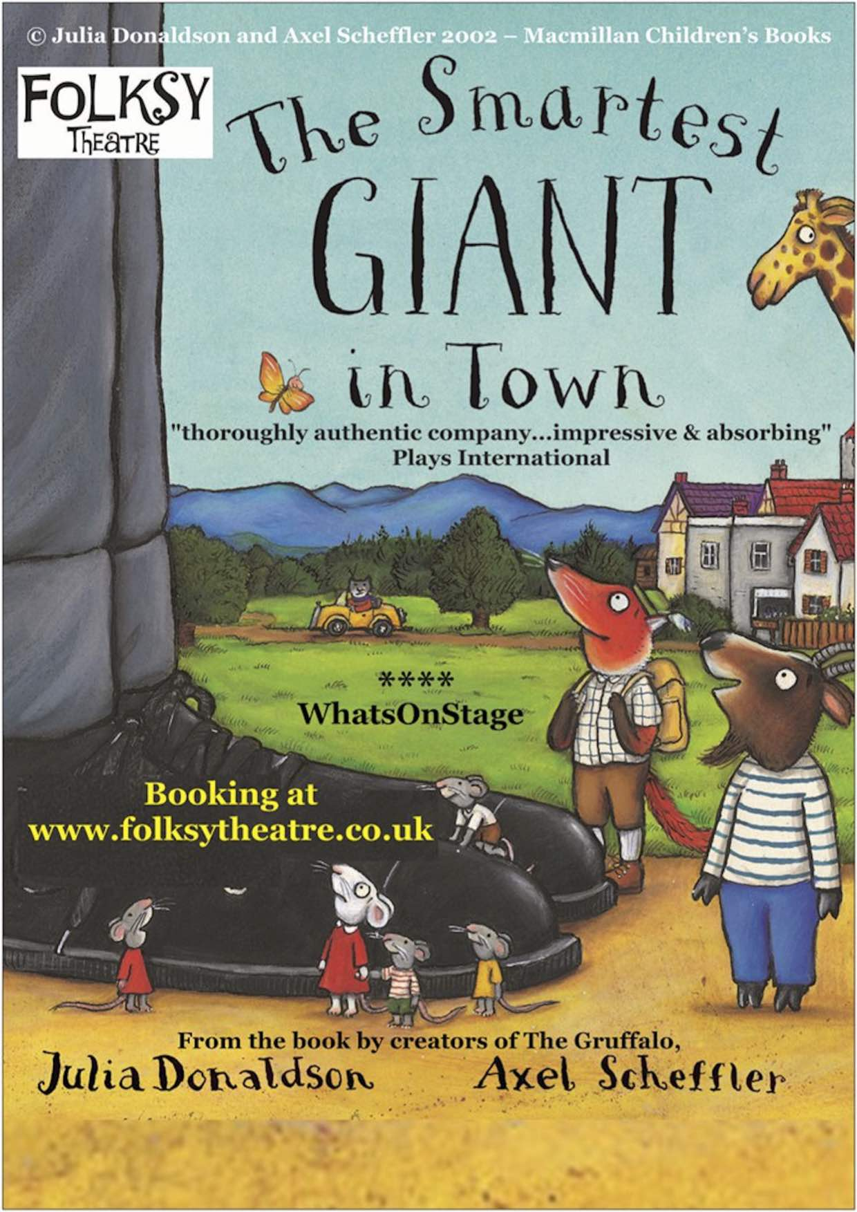 Folksy Theatre present 'The Smartest Giant in Town'