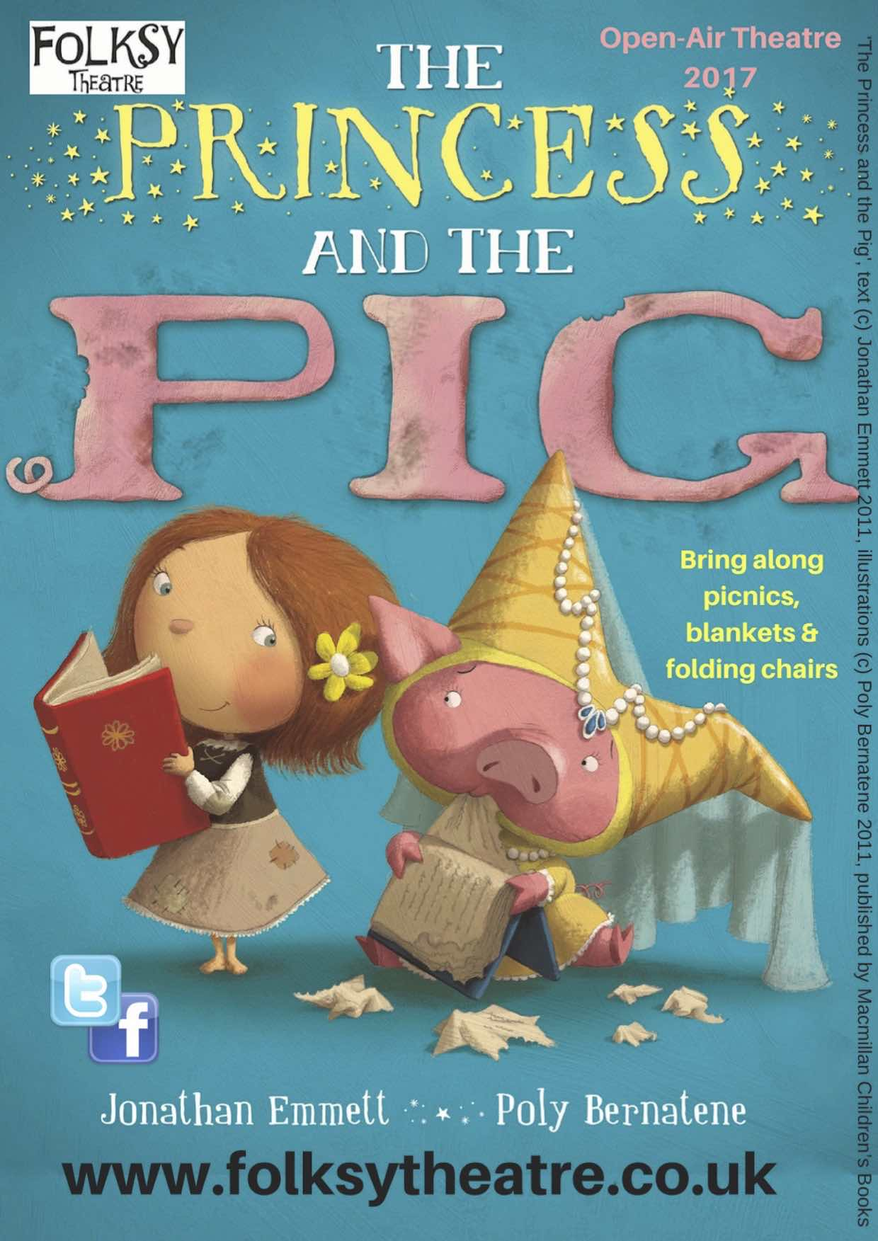 Folksy Theatre present 'The Princess and the Pig""