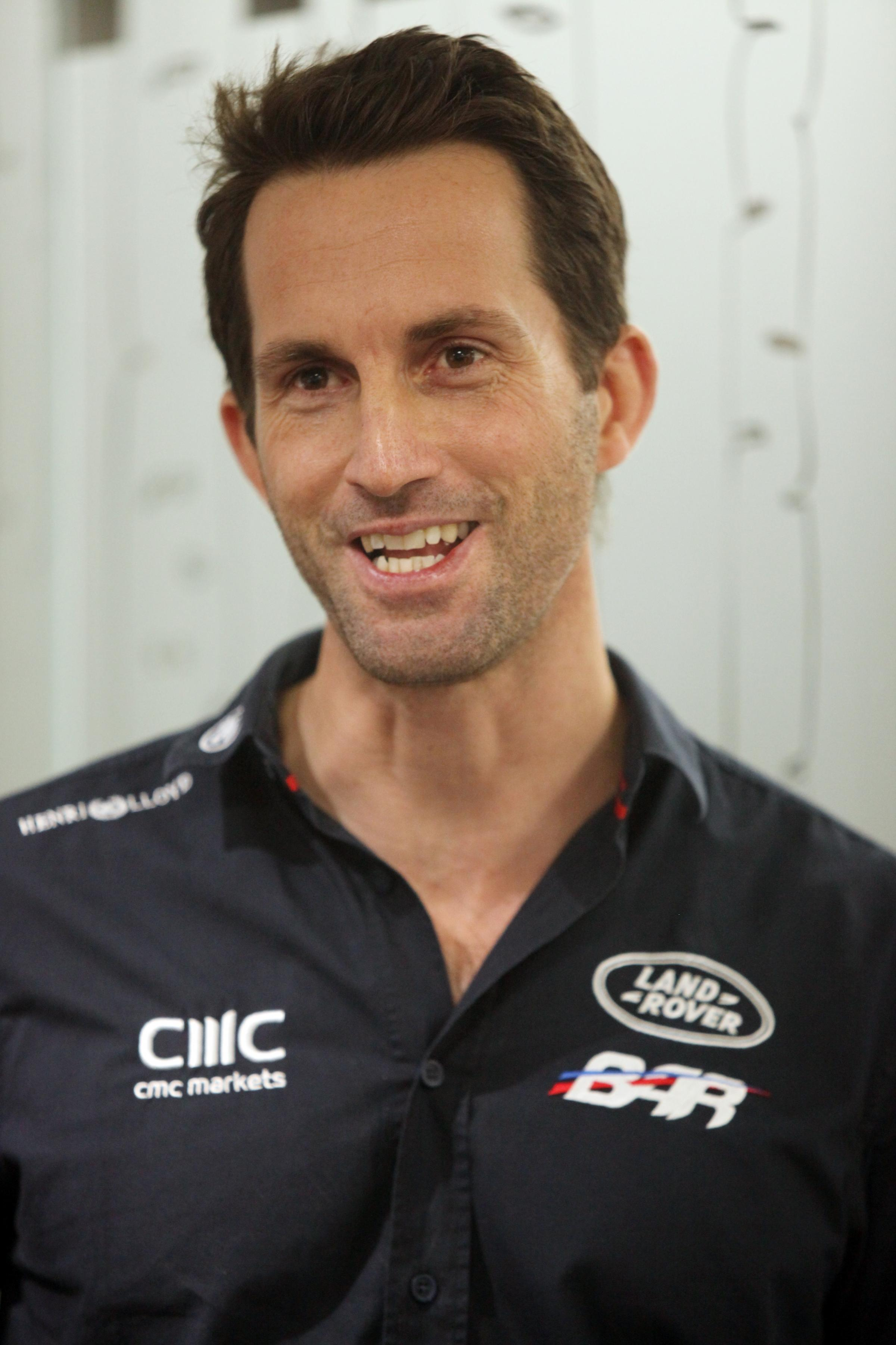 Olympian Ben Ainslie is supporting disabled sailing charity