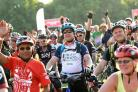 EDITORIAL USE ONLY.Cyclists prepare to set off from Clapham Common in London for the British Heart Foundation's 42nd London to Brighton Bike Ride, supported by Tesco and Jaffa. PRESS ASSOCIATION Photo. Picture date: Sunday June 18, 2017. Europe's
