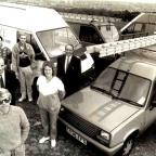 The Argus: Quickglaze company high up on the Downs, 1991