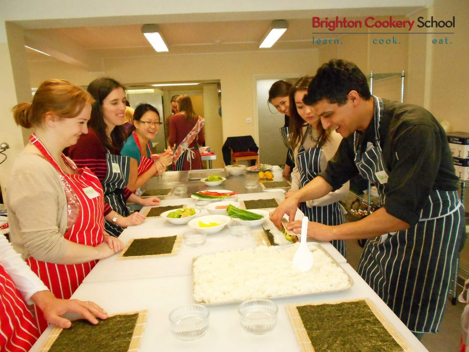 Let's Roll! Sushi Roll & Run Cookery Class