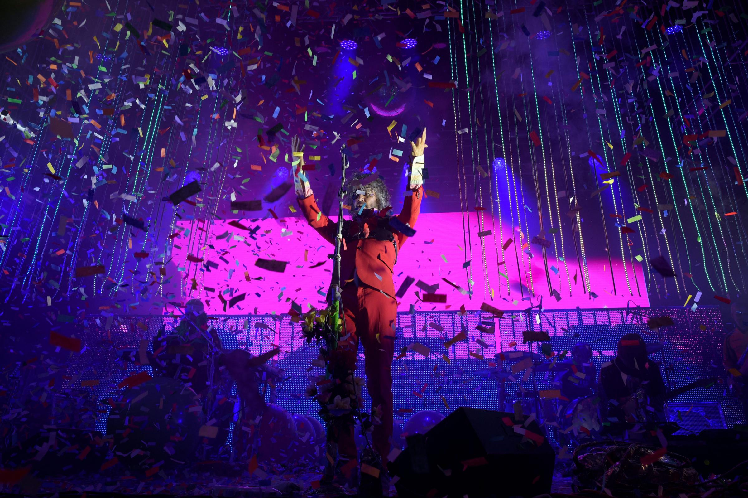 The Flaming Lips' Wayne Coyne Picture: PA