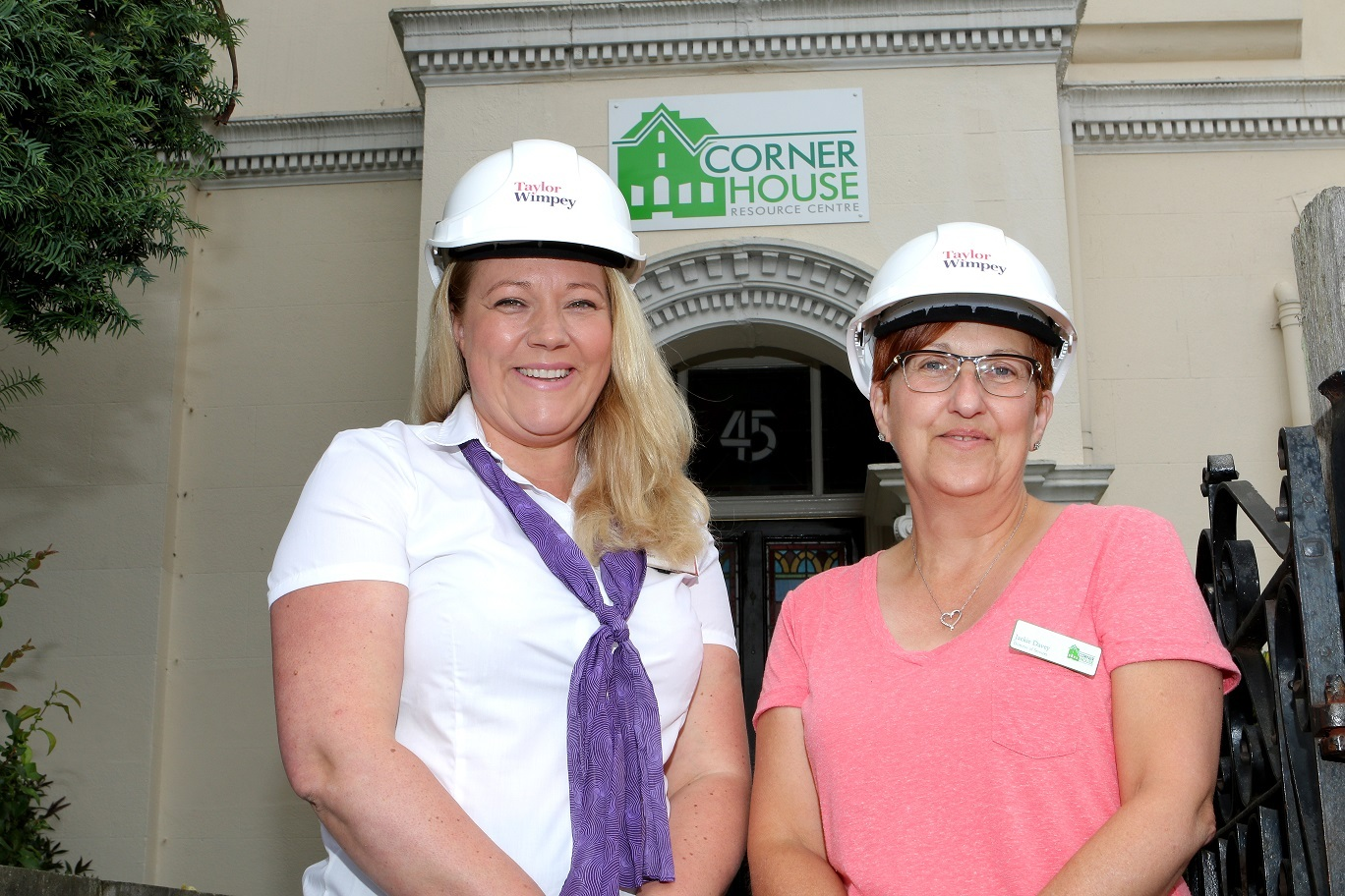 Taylor Wimpey gives donation to Corner House
