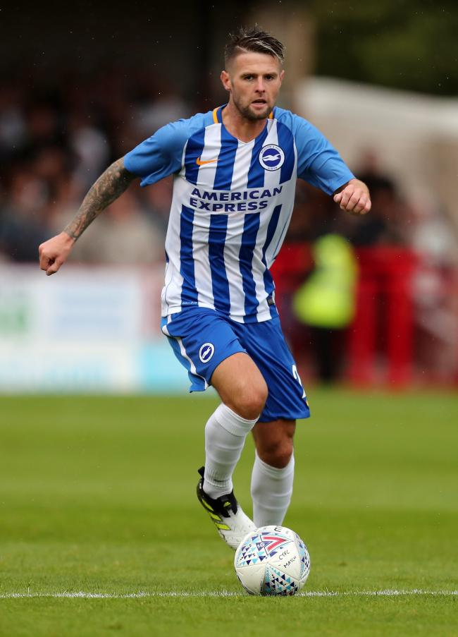 Oliver Norwood during his time with Albion