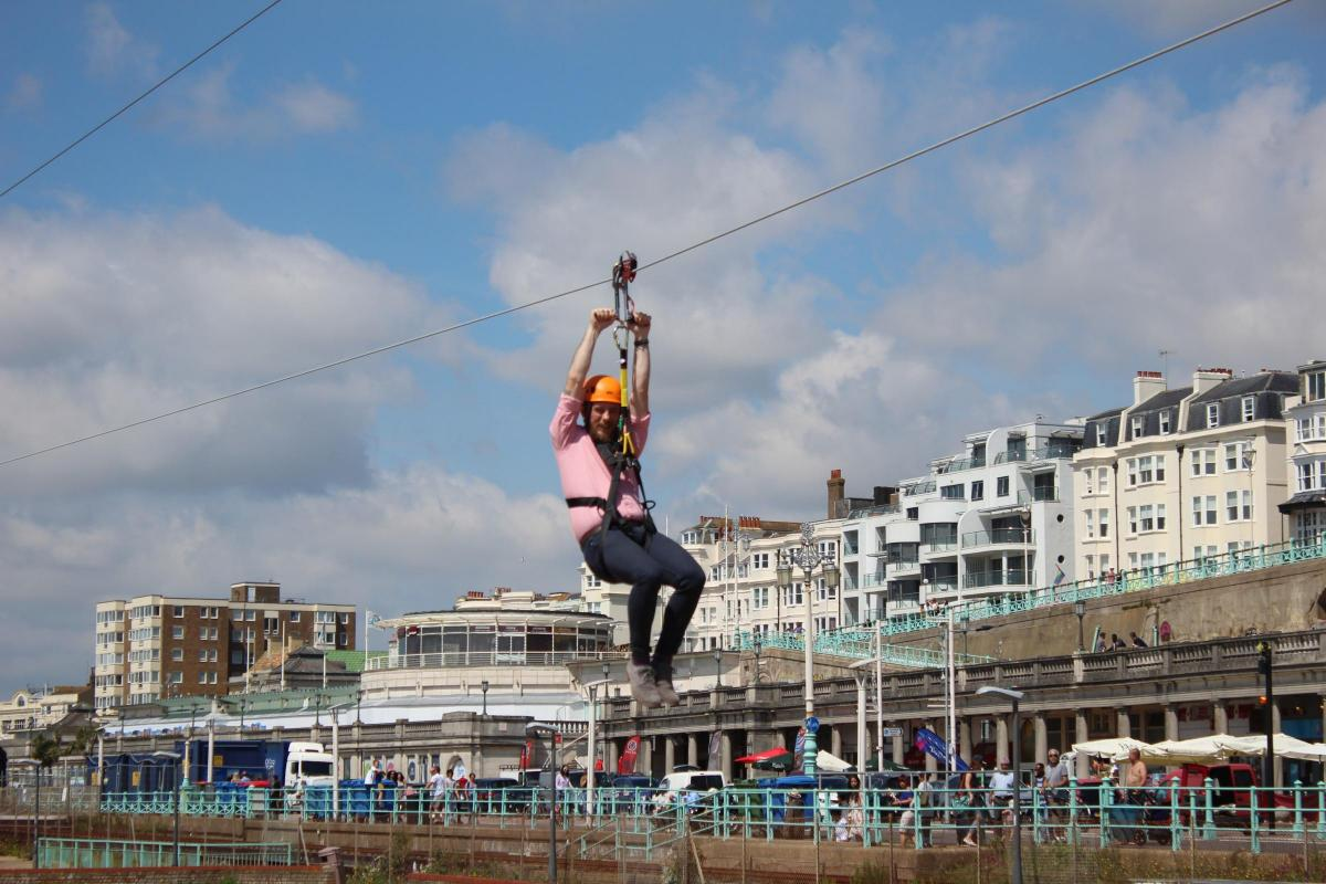 1.7 million Brighton Zip opens to the public | The Argus