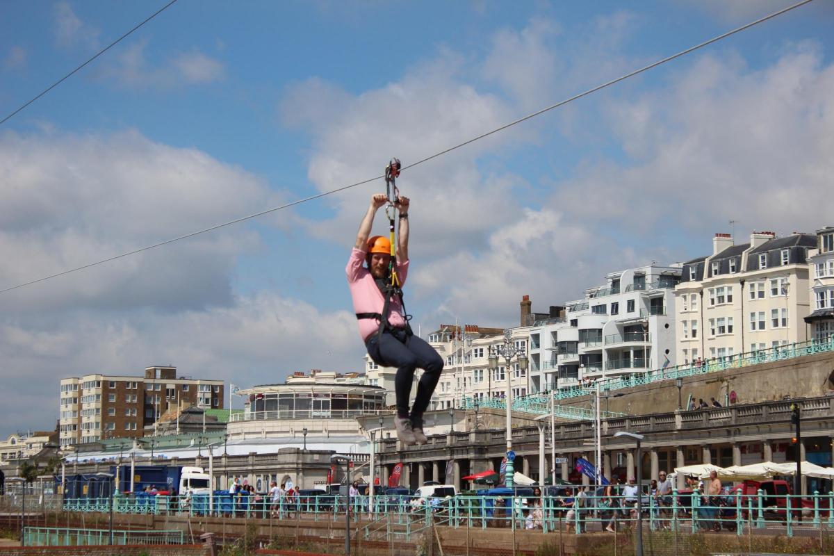 1.7 million Brighton Zip opens to the public   The Argus