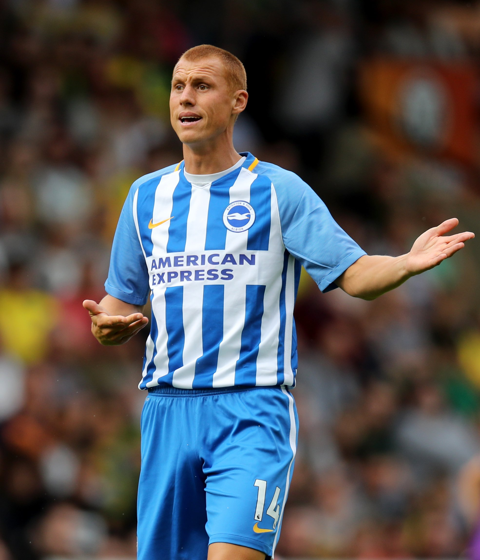 Steve Sidwell suffered a fractured ankle in training