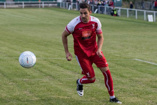Midfielder Duncan Culley played for Whitehawk FC