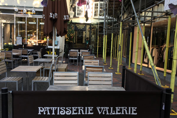 Patisserie Valerie in East Street, Brighton