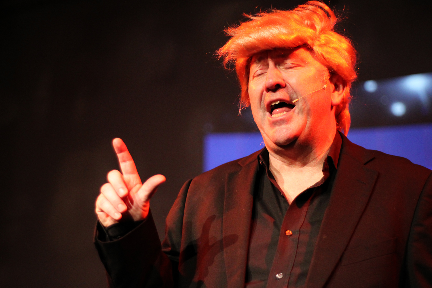 Mark Brailsford as Donald Trump