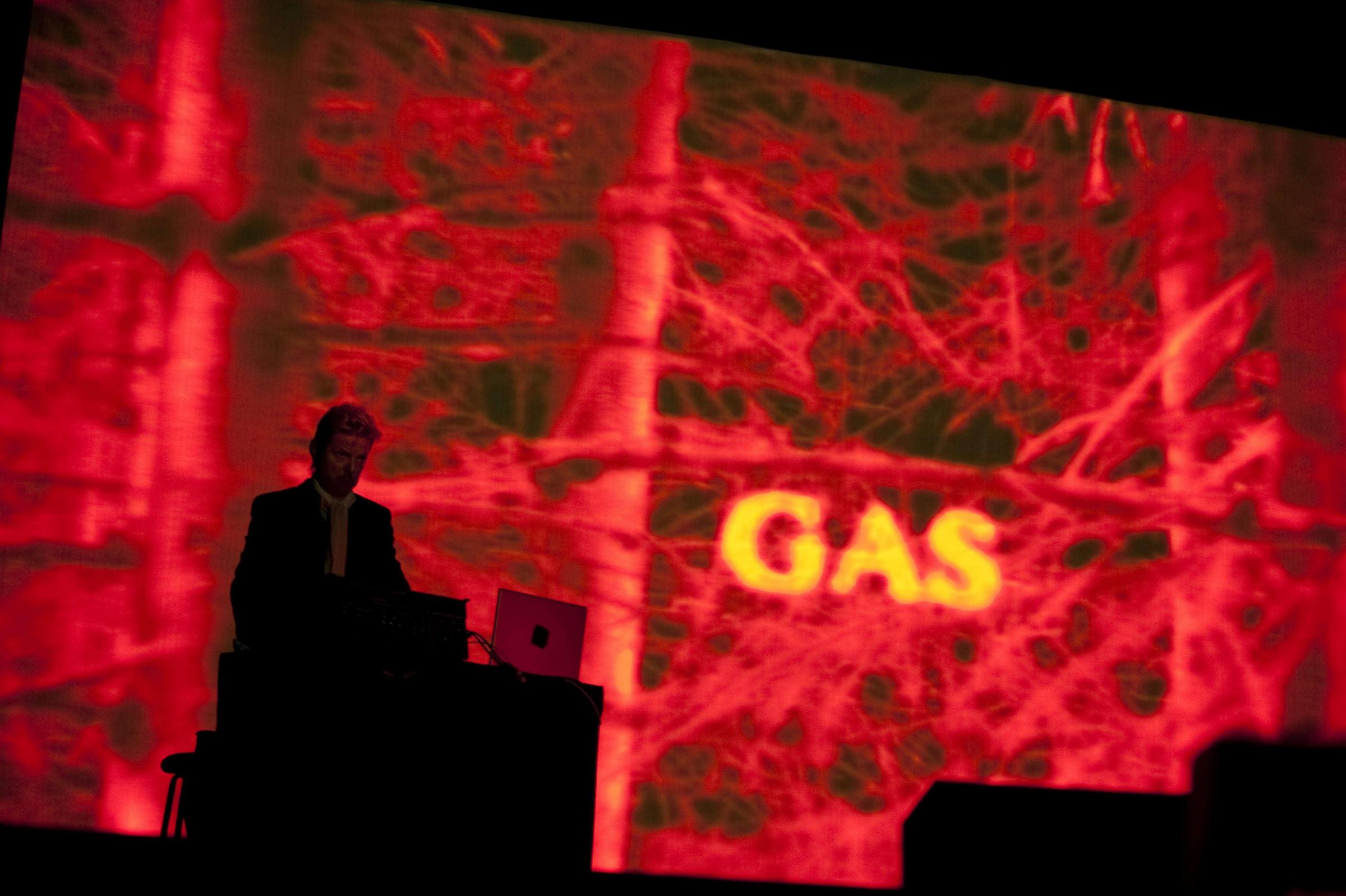 Wolfgang Voigt presenting Gas