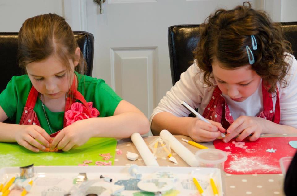 Children's Cupcake Decorating Class with Sussex Sugarcraft
