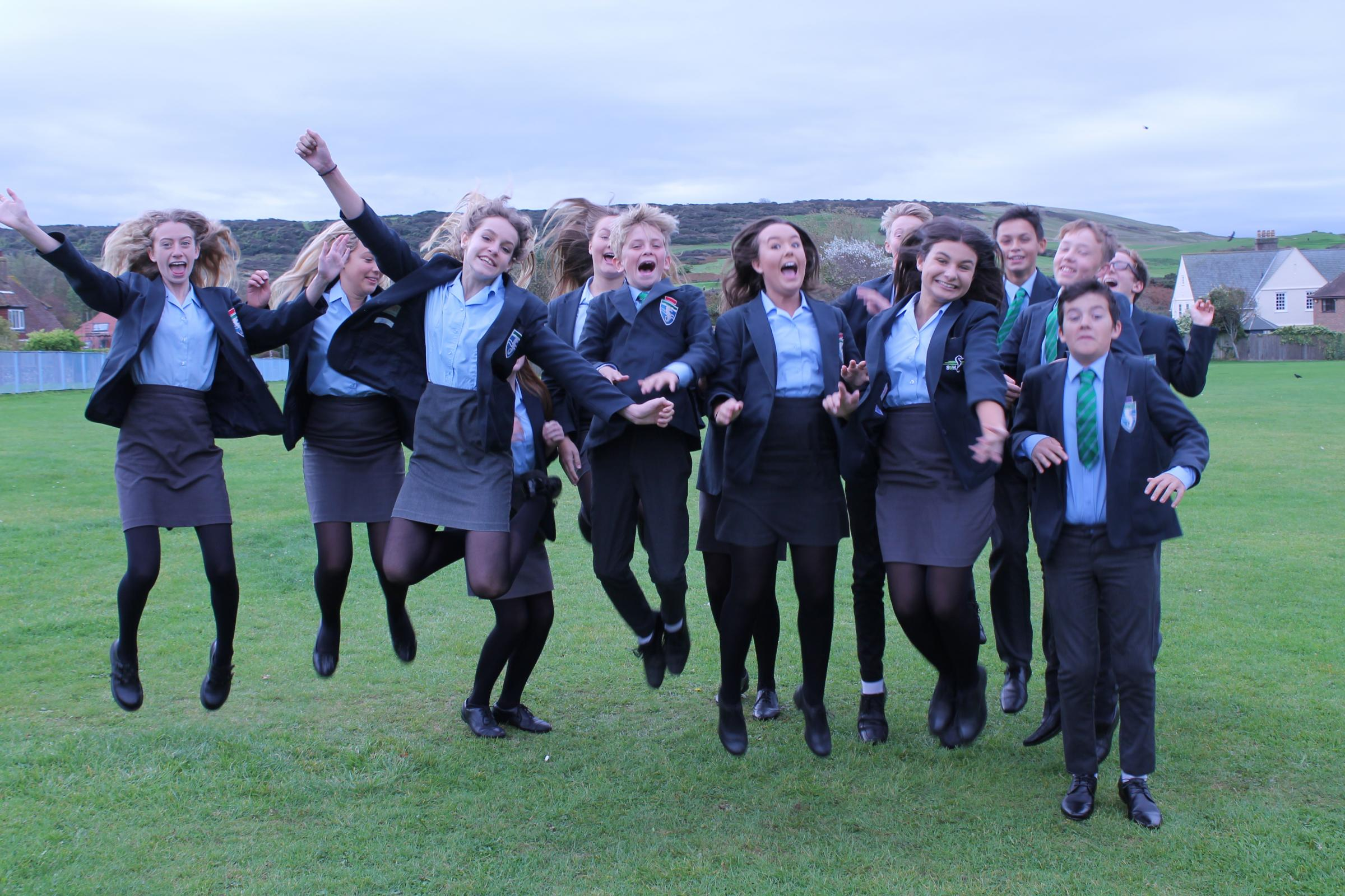 Seaford Head pupils