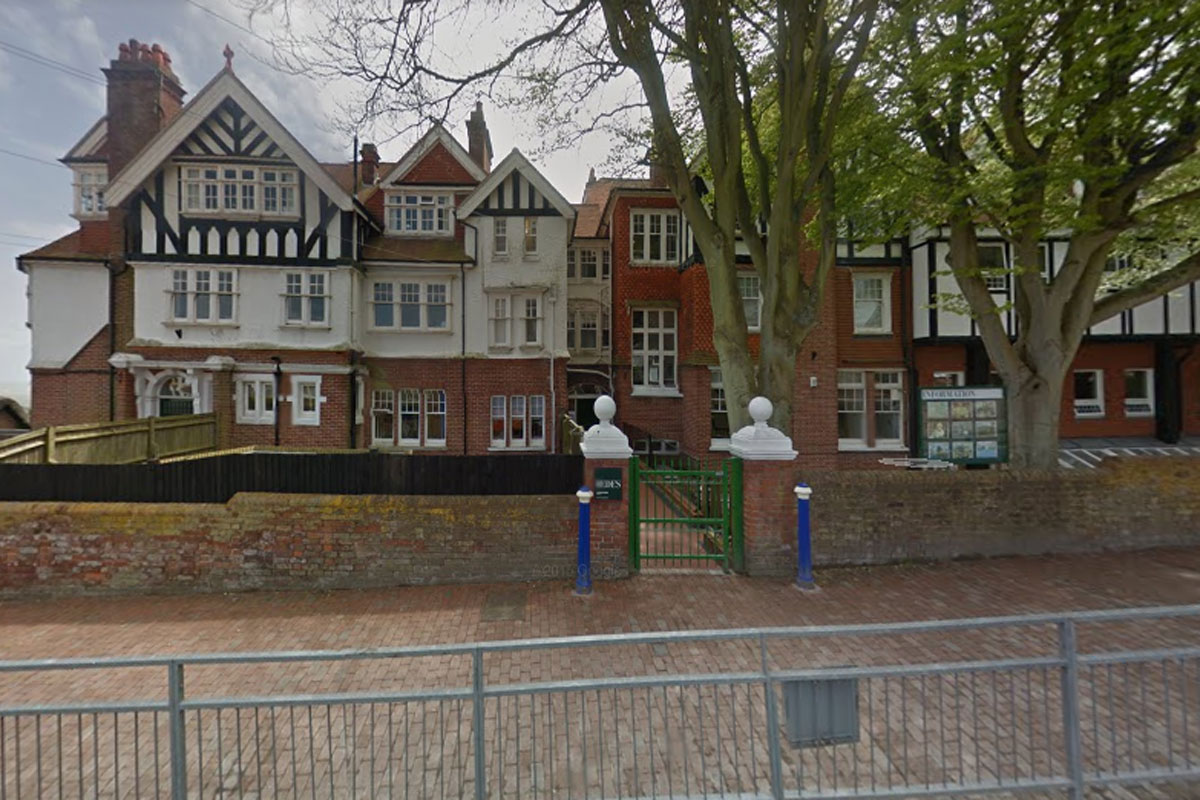 St Bede's Prep in Eastbourne.  Picture: Google Street View