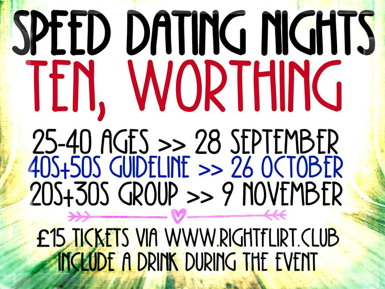 Speed dating horsham