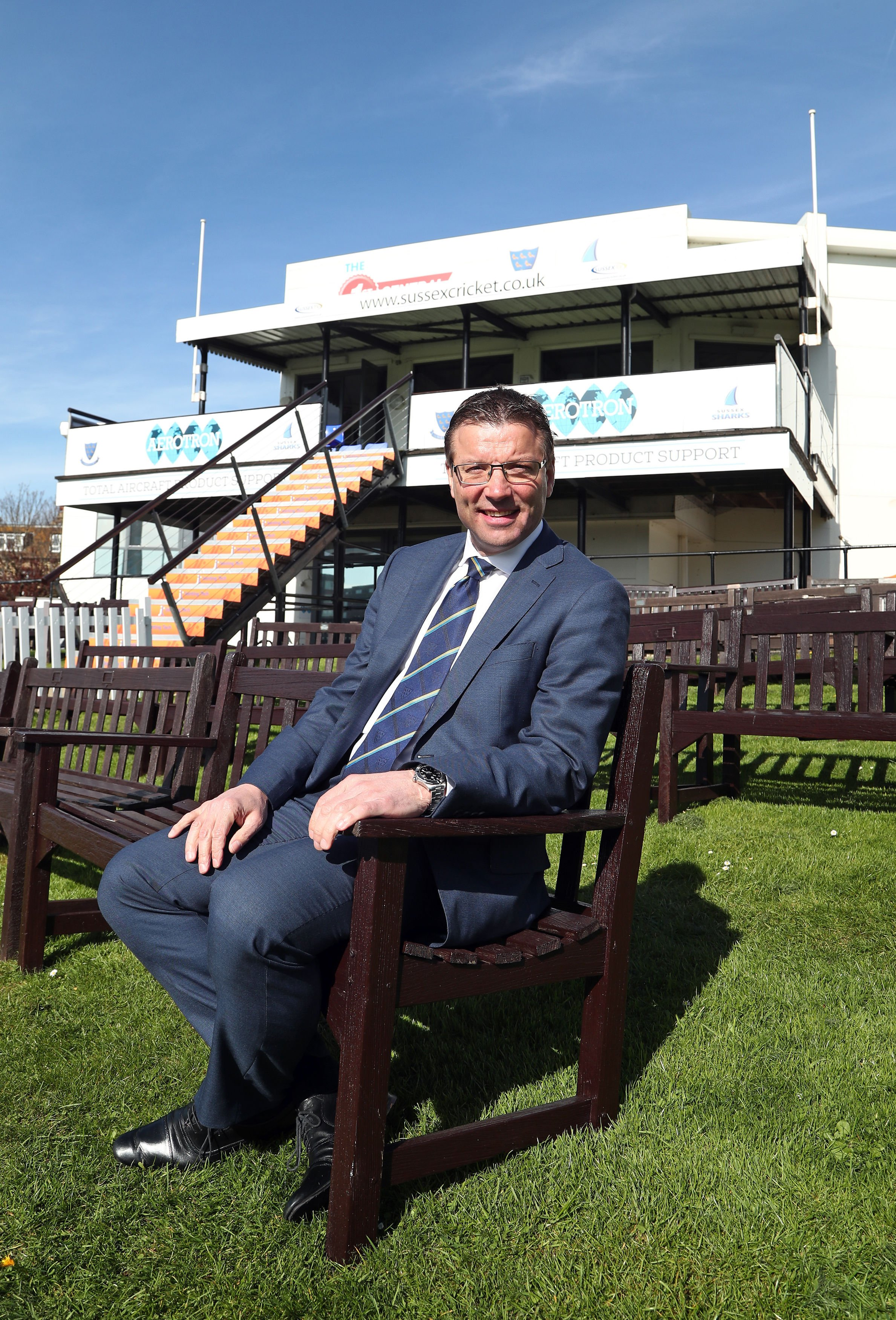 Rob Andrew is determined to get the right man as Sussex's new head coach