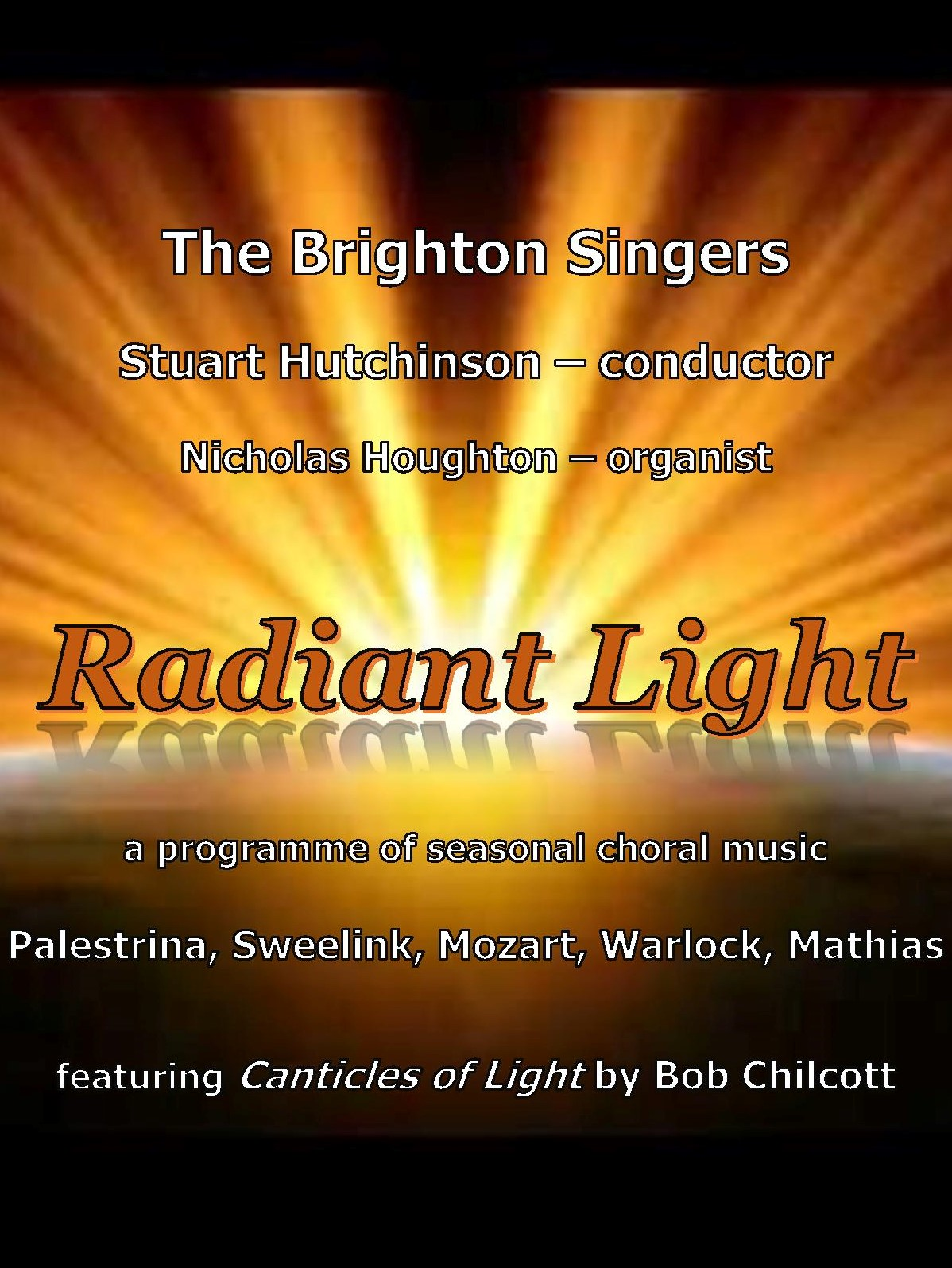 Radiant Light - an evening of seasonal choral music