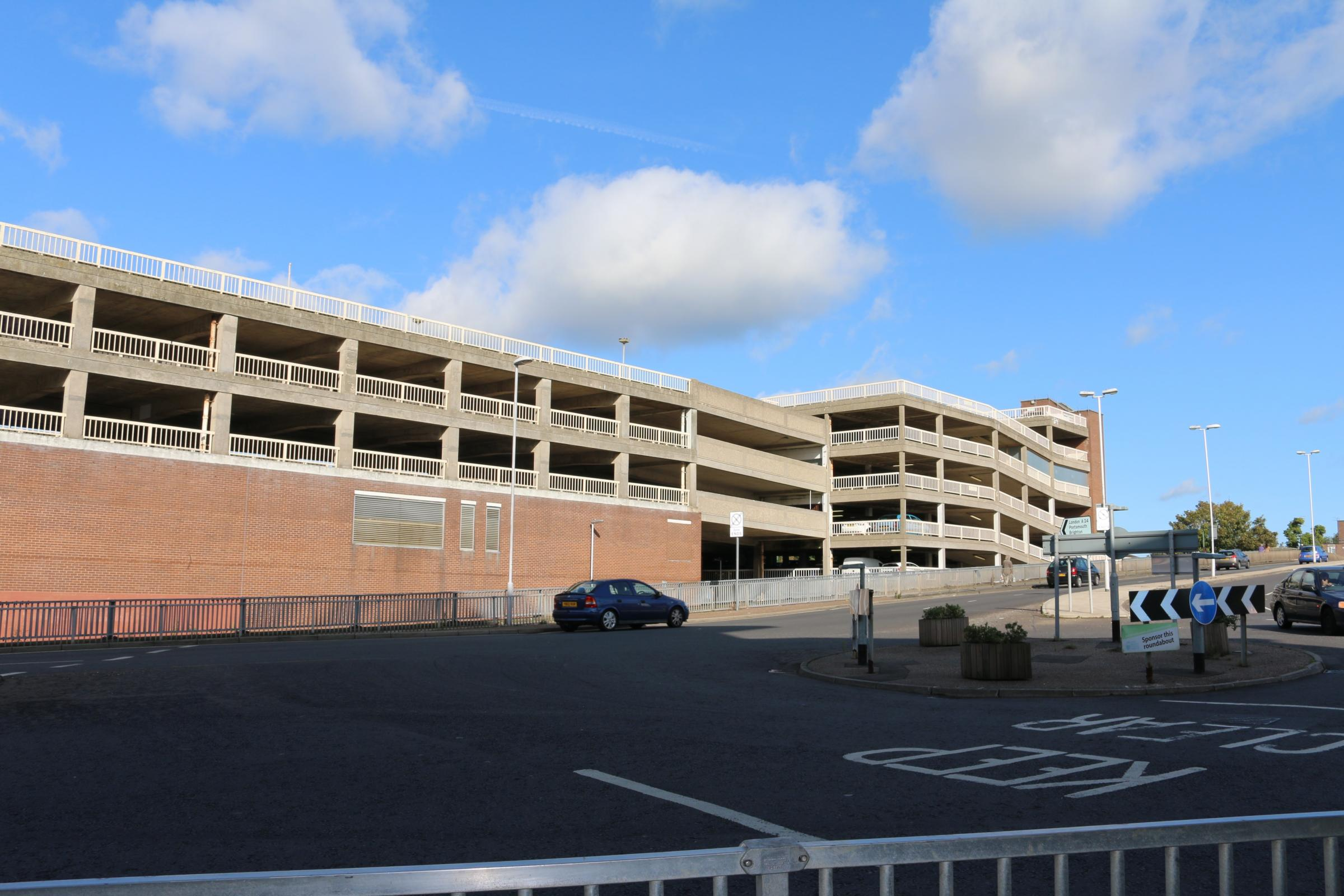 Car park work halted by police over seagull nest by police