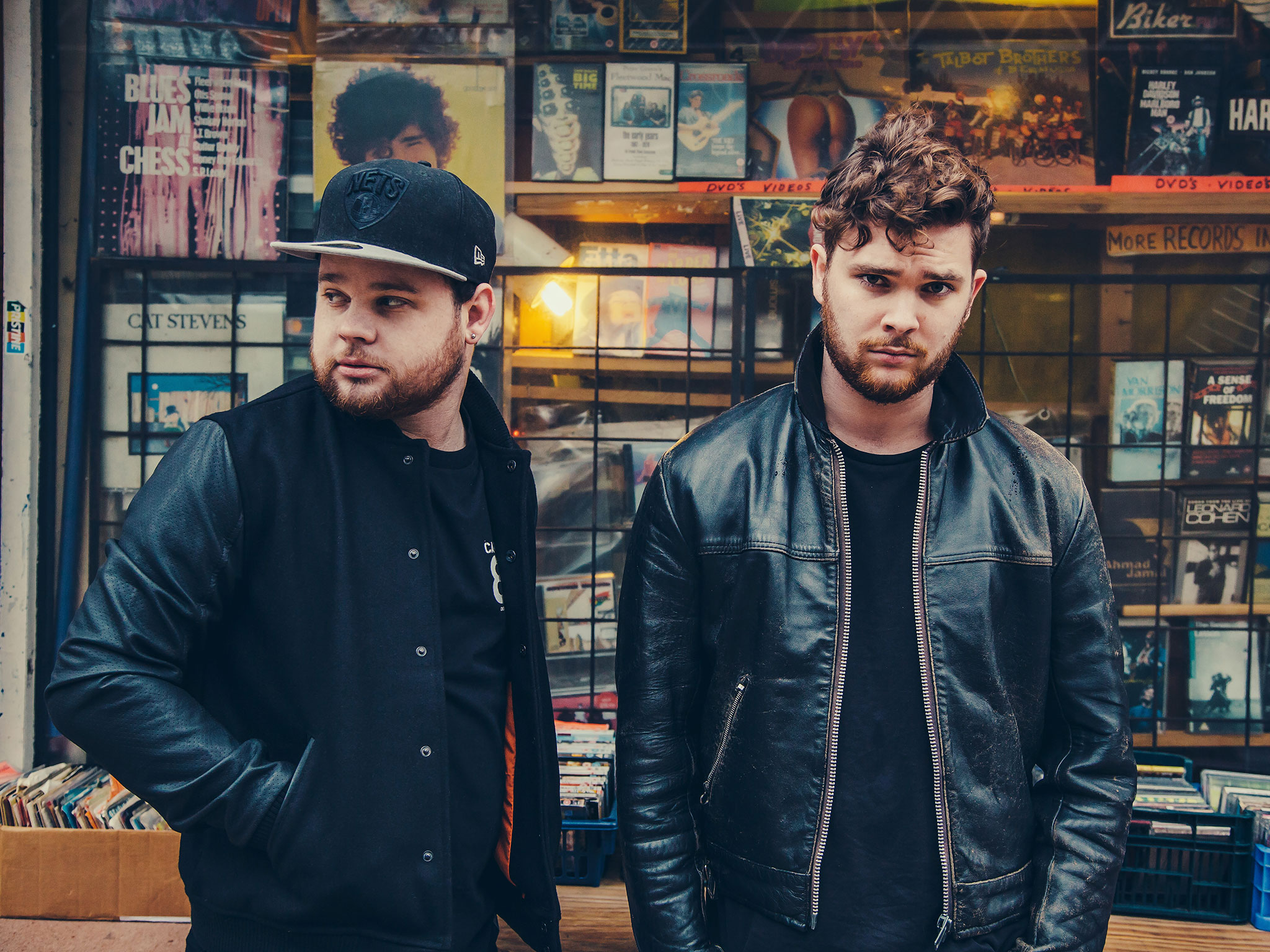Ben Thatcher, left, and Mike Kerr of Royal Blood