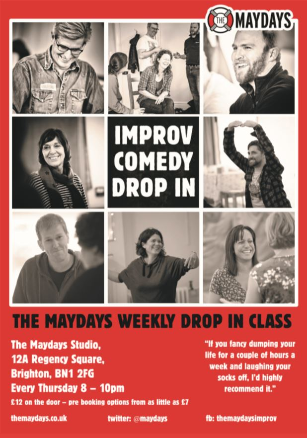The Maydays Improv Comedy Drop In