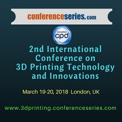 3D Printing Technology and Innovations Expo 2nd International Conference