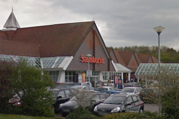 The Sainsbury's store in Old Shoreham Road, Hove