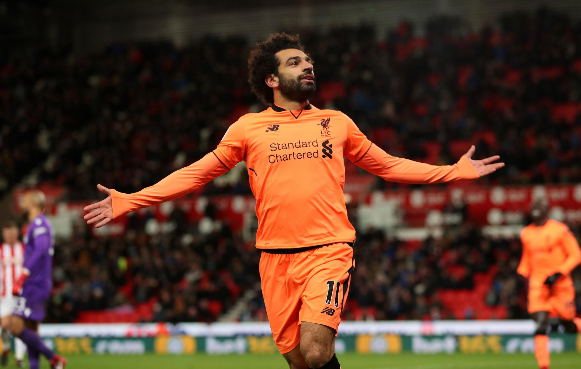 Mo Salah is in red-hot form