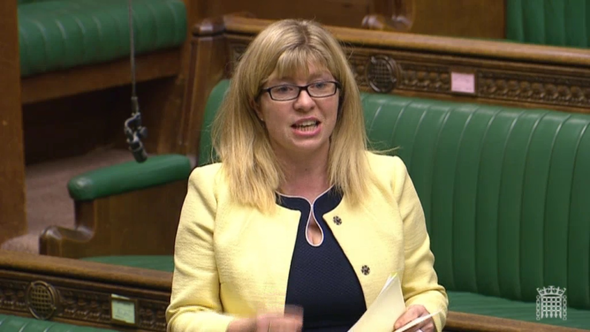 Maria Caulfield MP speaking in Parliament
