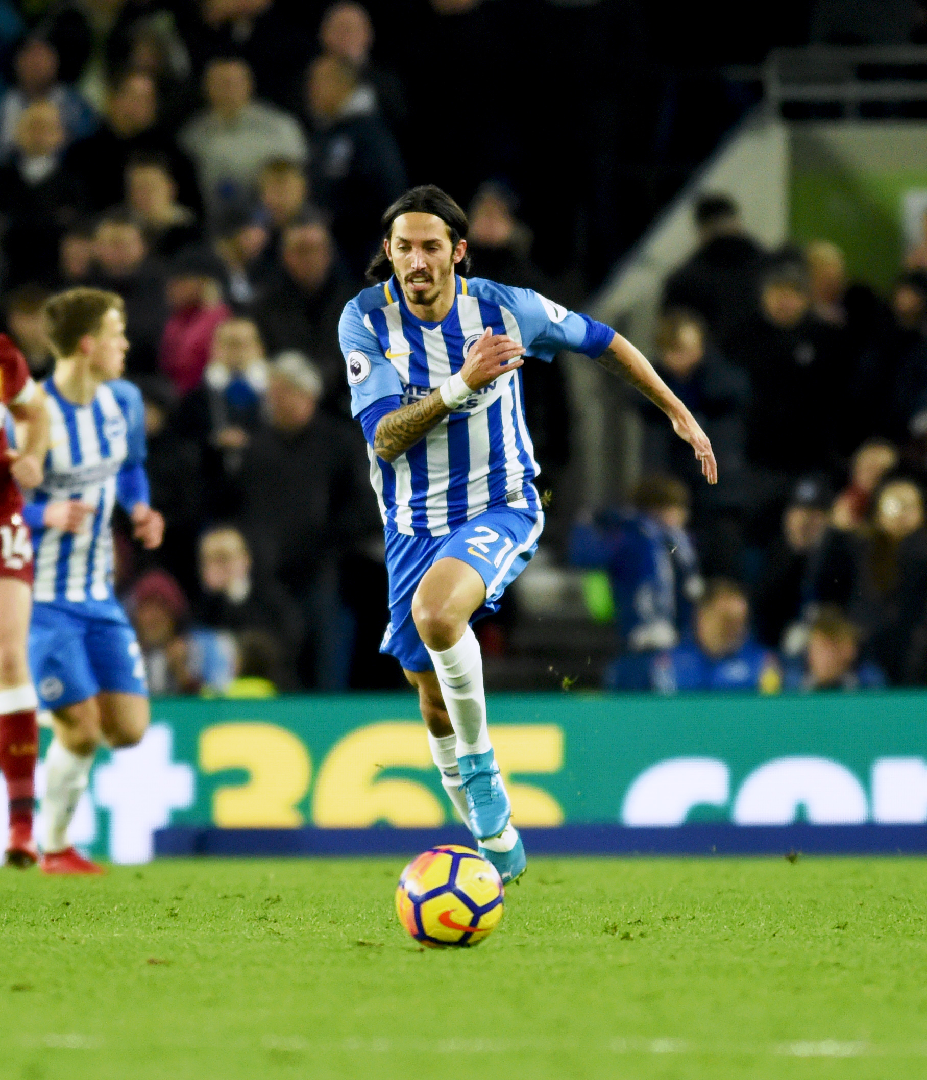 Ezequiel Schelotto is in demand after his exclusion from Albion's Premier League squad
