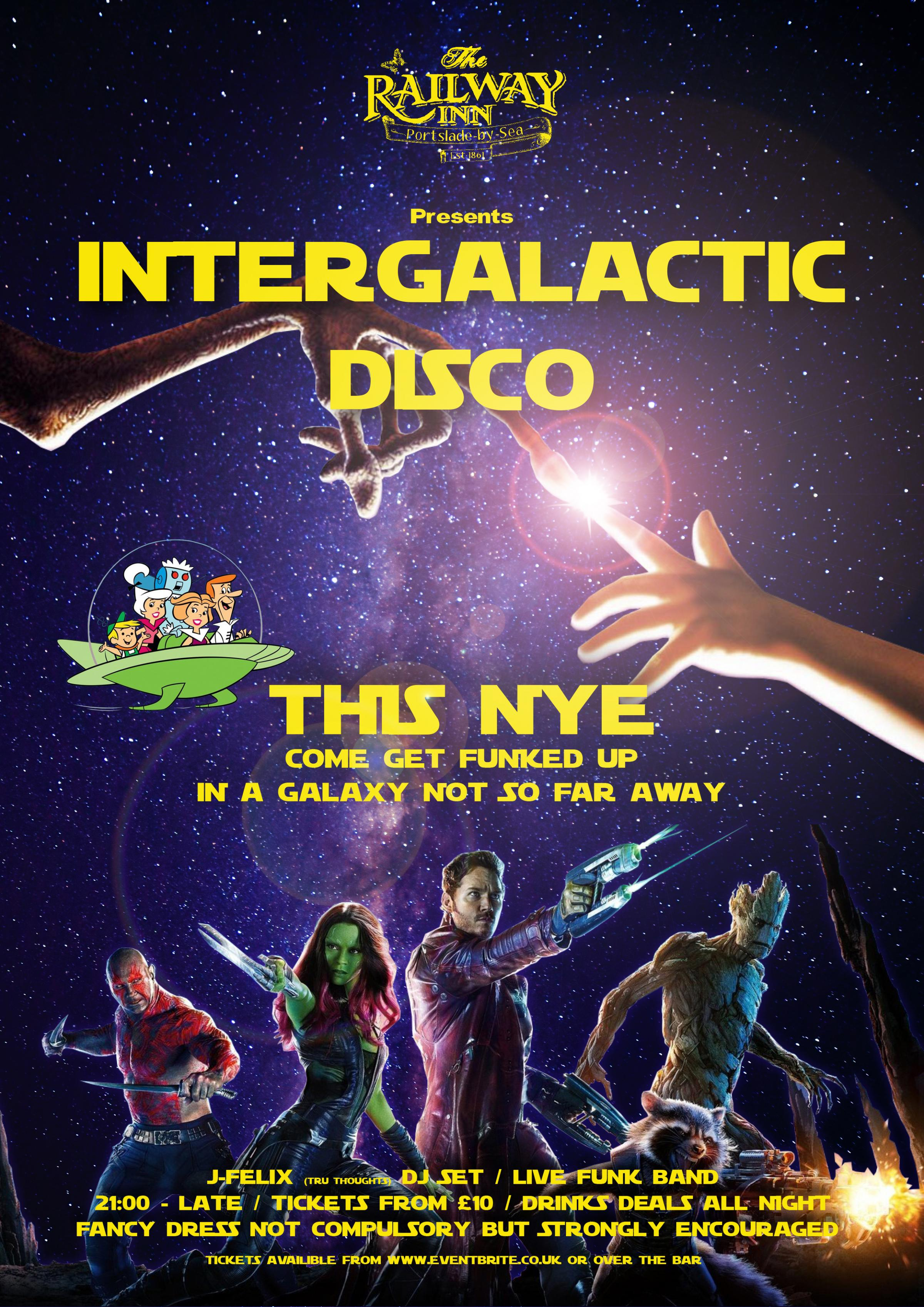 Intergalactic Disco New Years Eve