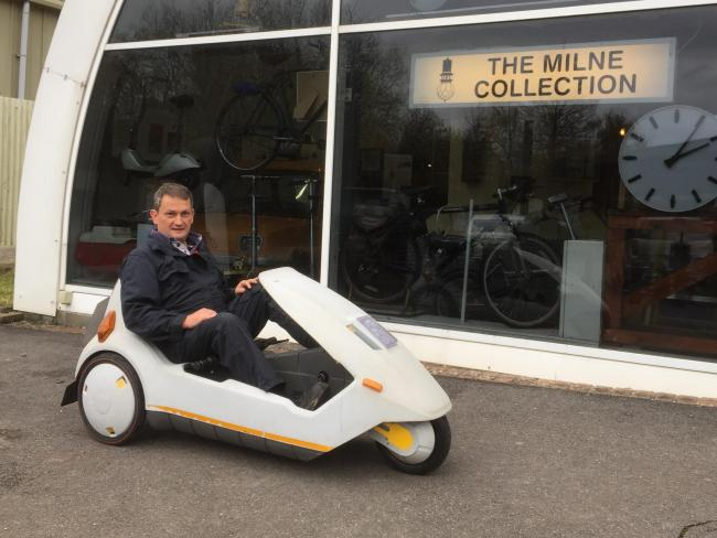 Engineer Fixes Amberley Museum S Sinclair C5 The Argus
