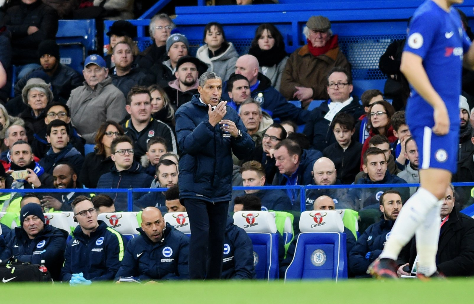 Chris Hughton is backing the way he sets up his side against the big guns