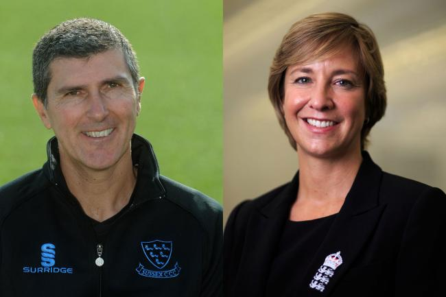 Mark Robinson, pictured left, has been awarded an OBE, while Clare Connor is honoured with a CBE