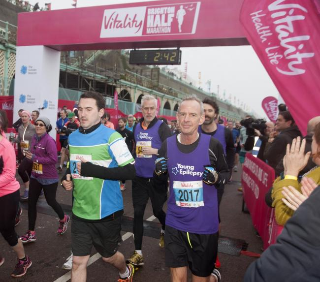 DJ Fatboy Slim took part in last year's half marathon  Picture: Graham Franks