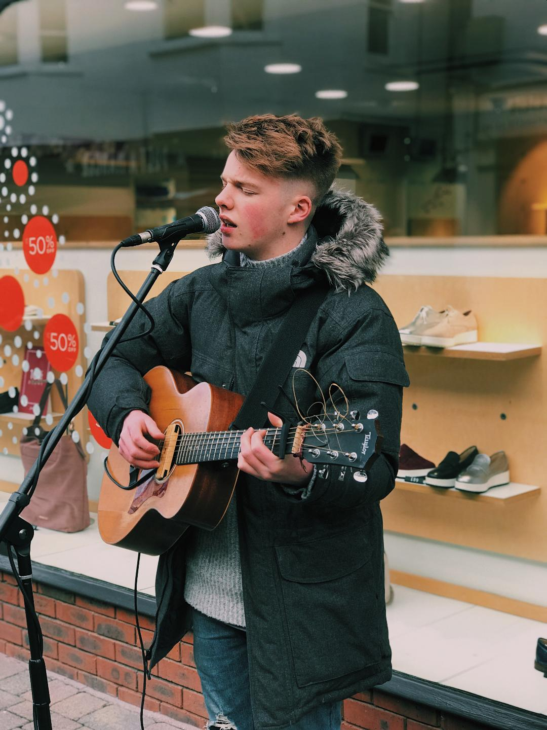 Tim Newman is a talented teenager with a definite passion for music